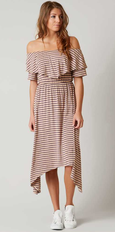 1017dc4d8cc4 Willow   Root Striped Dress - Women s Clothing