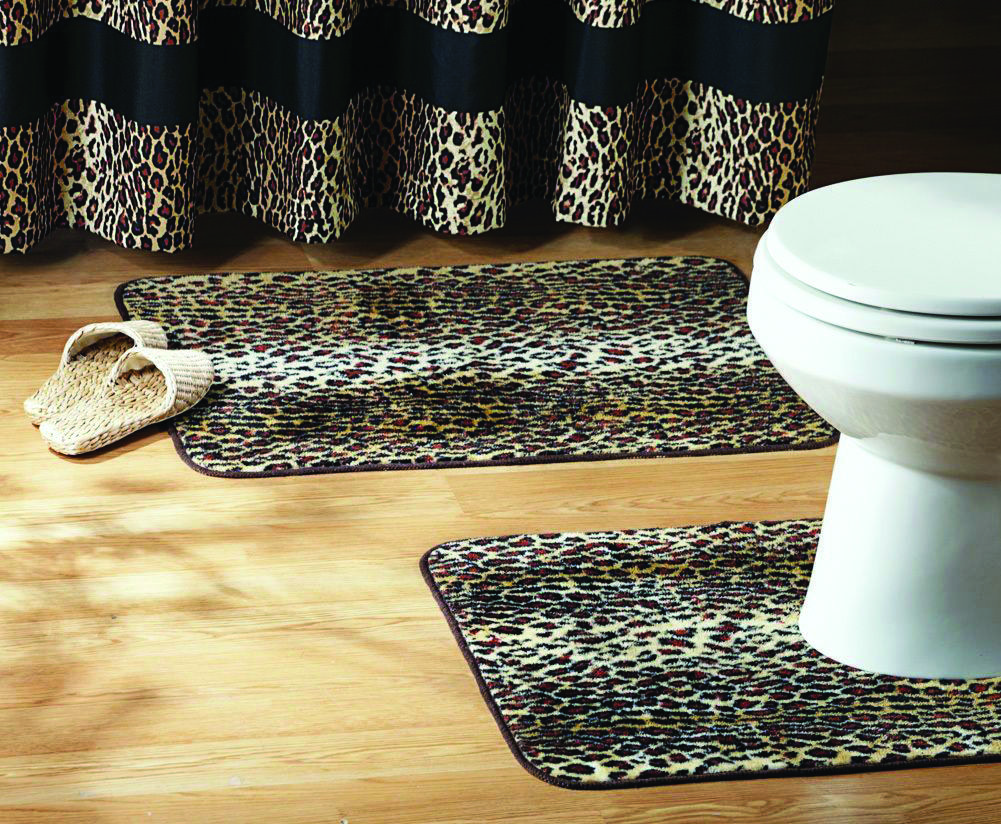Sorts Of Washroom Rugs You Ought To Know Animal Print Bathroom