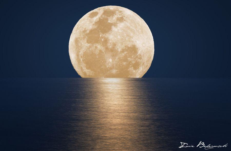 Moonrise by Iurie Belegurschi - Amazing Pics