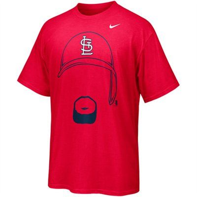 new style 68e0d 0307a Nike Albert Pujols St. Louis Cardinals Hair-itage T-Shirt ...
