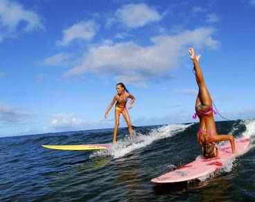 i want to learn how to surf.
