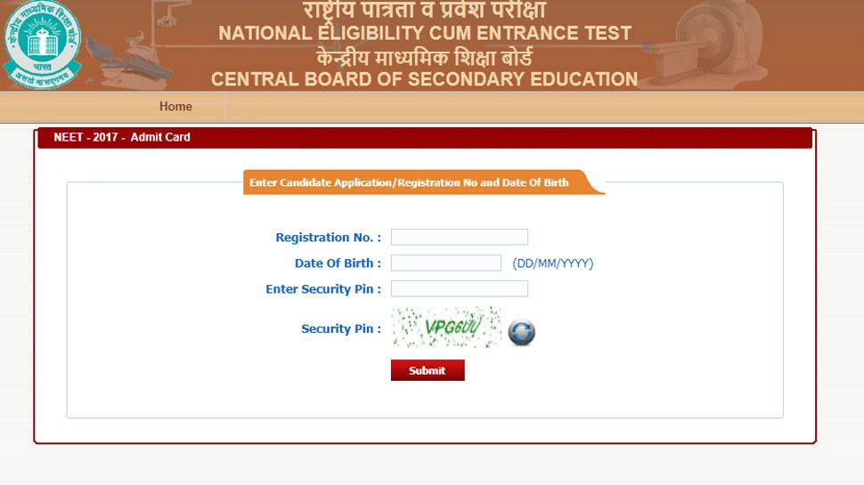 CBSE NEET 2018 Admit cards released, follow these steps to download hall ticket - http://currentsamachar.com