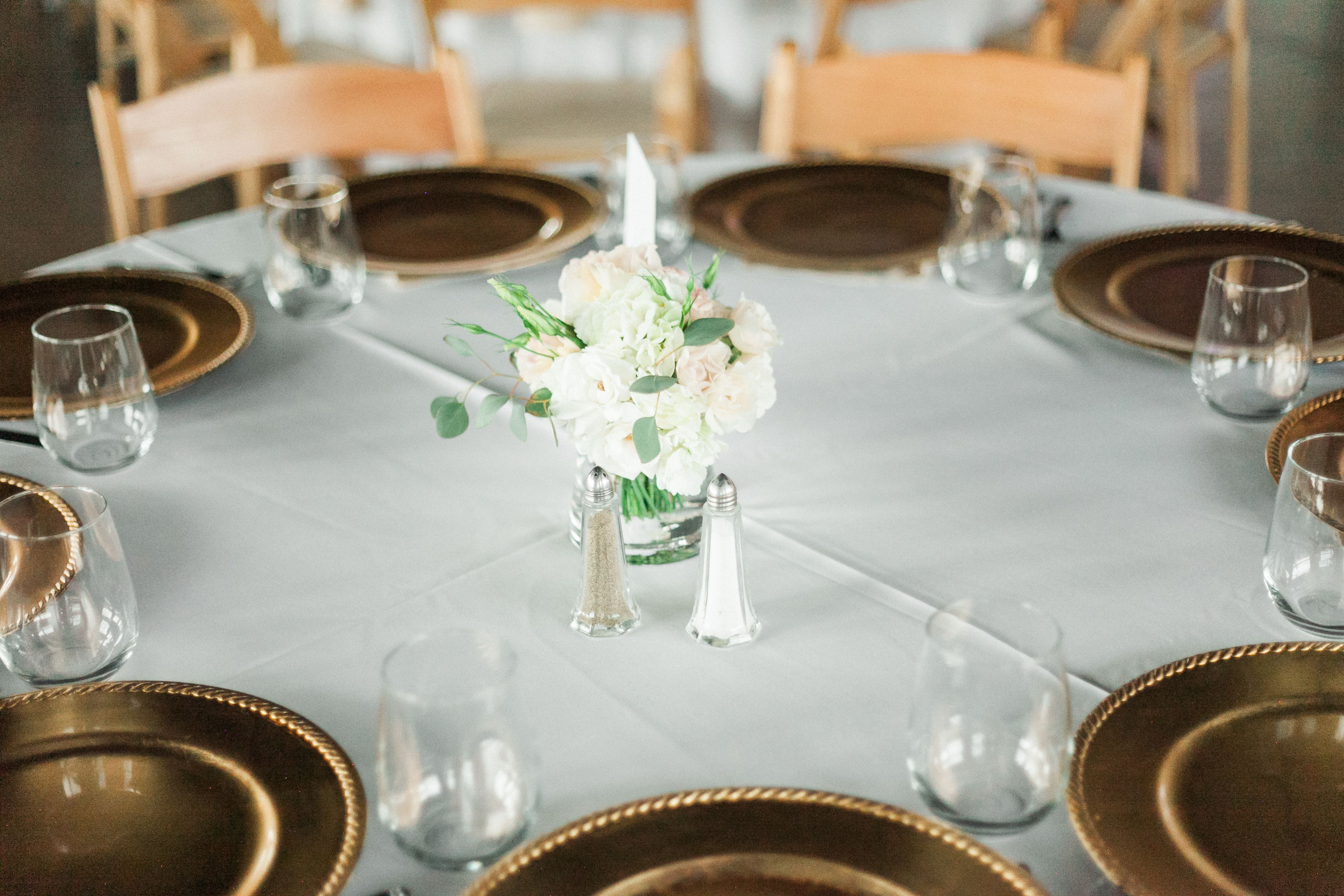 wedding reception centerpiece by May Flowers | photo by Cinderella ...