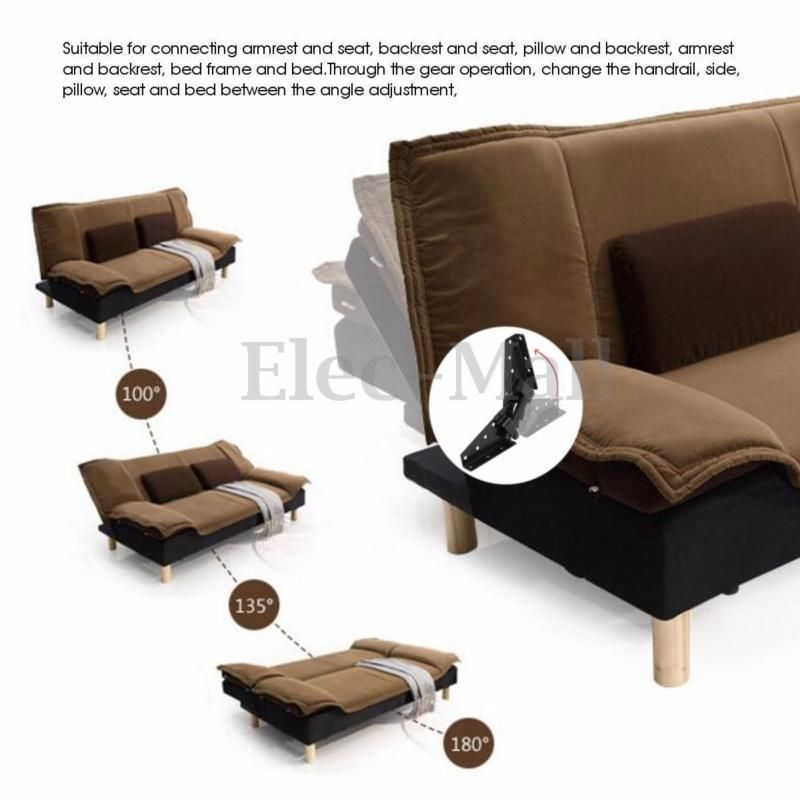 Sofa Bed Bedding Furniture Adjule 3 Position Angle Mechanism Hinge Hardware