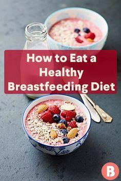 Gesunde Stilldiät   – Breastfeeding