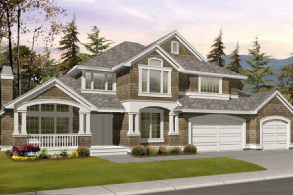 Craftsman Style 2 story 5 bedroomss House