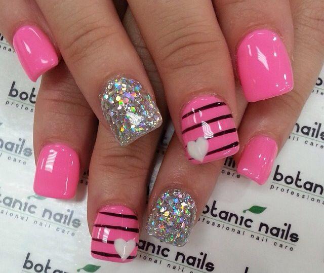 Redlands Ca Nails Pink Nails Valentines Nails