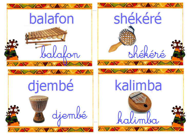 Vocabulaire Afrique Instrument Africain Instrument De Musique Africain Afrique