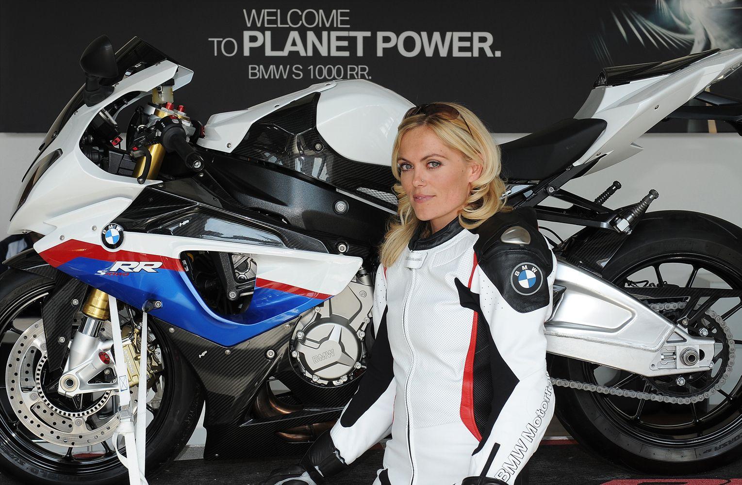 Katja Poensgen - One of the best known female motorcycle ...