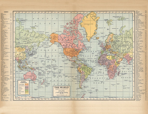 Old map of the world this website is a good source for printable printable world map from 1904 a high resolution 600 dpi digital download for large scale printing gumiabroncs Choice Image