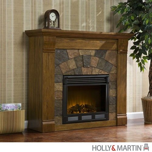 antique oak electric fireplace via the beach look click on the rh pinterest com