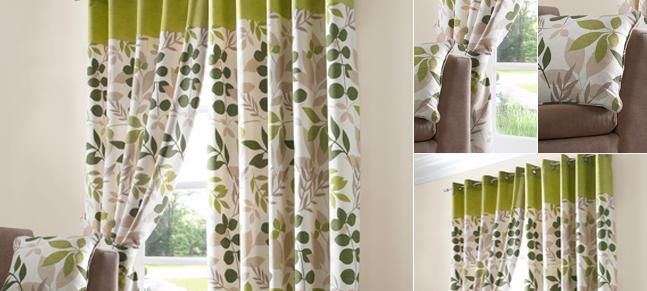Green Jakarta Curtain Collection Curtains Living Room Decor
