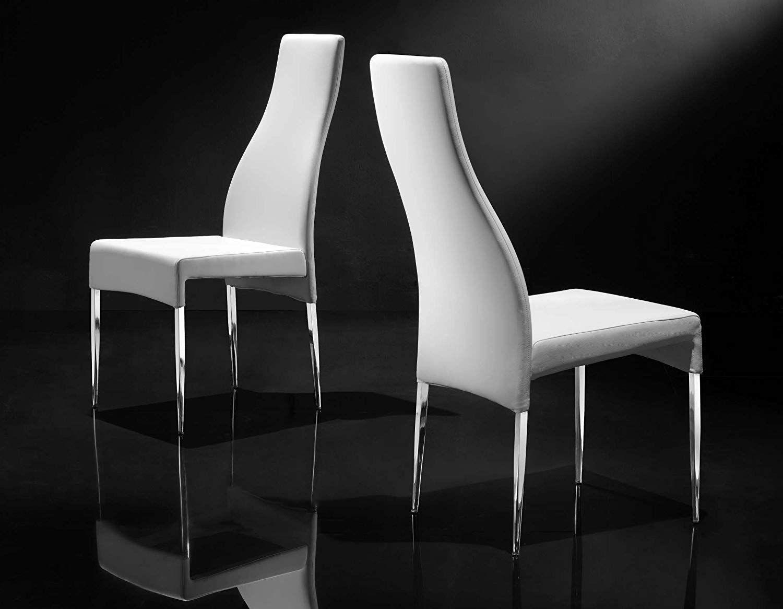 Creative Furniture Megan Dining Chair, White  Creative furniture
