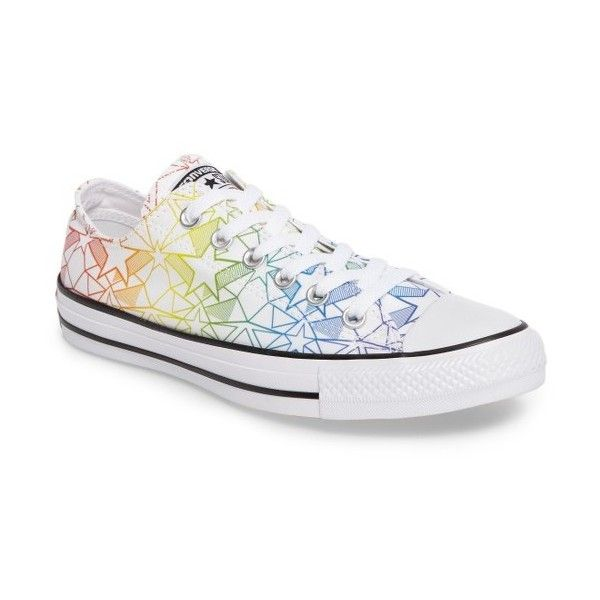 62bd9376762c Women s Converse Chuck Taylor All Star Pride Low Top Sneaker ( 60) ❤ liked  on