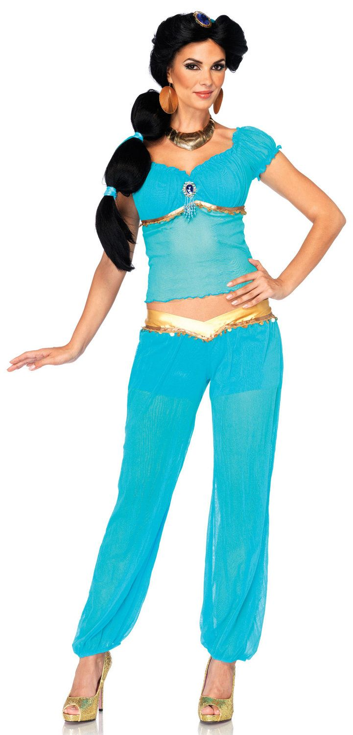 Disney Princess Jasmine Adult Costume | Jasmine & Arabian Nights ...