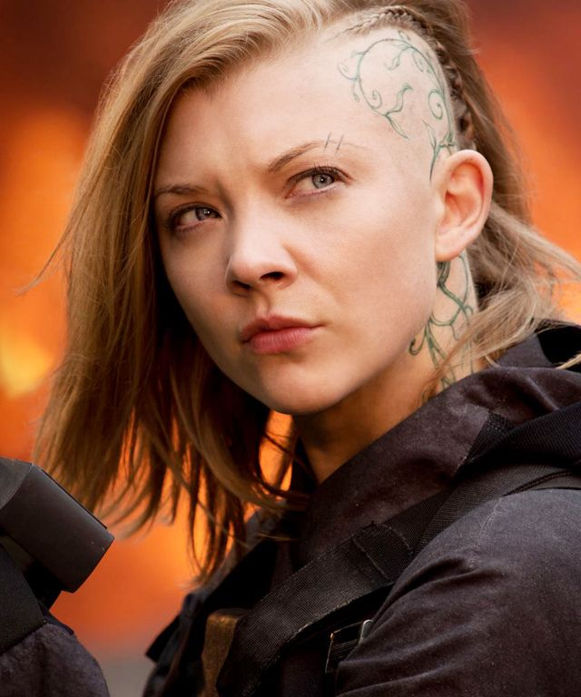 What can you say about Natalie Dormer shaving (partly) her