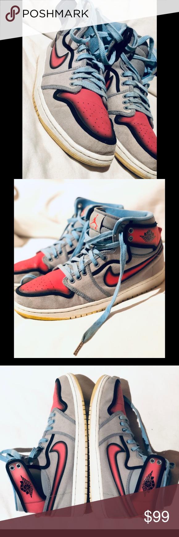 Nike Air Jordan 1 Retro Ko Hi Rttg Barcelona 11 5 Pre Owned Gently Worn And In Very Good Condition Pics Are Very Accurat Air Jordans Nike Air Jordan Nike Air