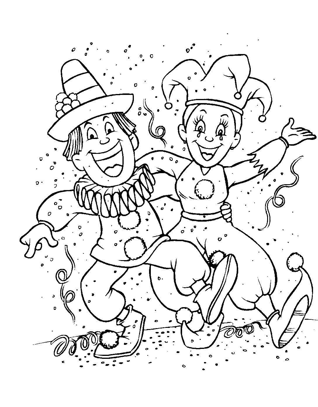 Http Coloring Biboon Com Wp Content Gallery Carnaval Coloriage Carnaval 5 Jpg Ausmalbilder Fasching Ausmalbilder Weihnachtsmalvorlagen