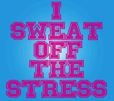 I Sweat Off The Stress Pictures, Photos, and Images for