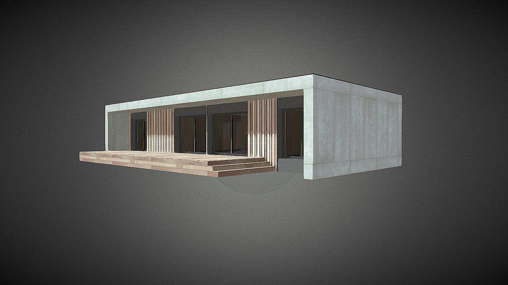 pure by popup house das haus house 3d model house simple house rh pinterest nz