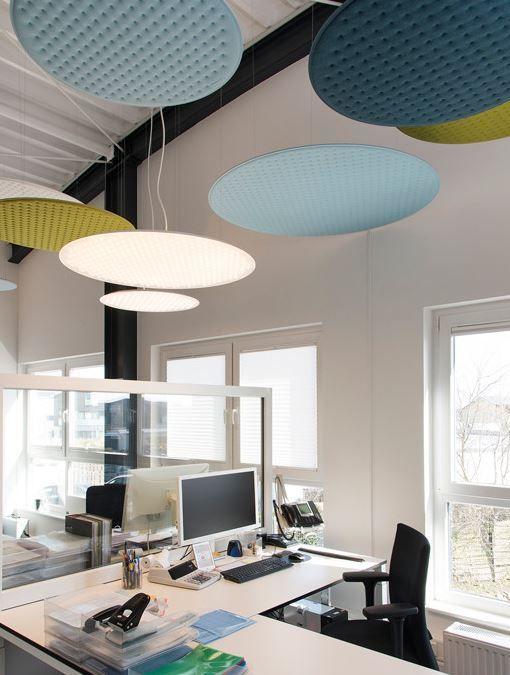 Rossoacoustic acoustic design pinterest agencement bureau bureau ve plafond - Agencement bureau design ...