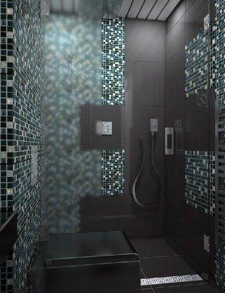 Diy Mosaik Dusche So Einfach Kannst Du Den Edlen Badezimmer Trend Nachmachen Badezimmer Mosaik Badezimmer Trends Bad Mosaik