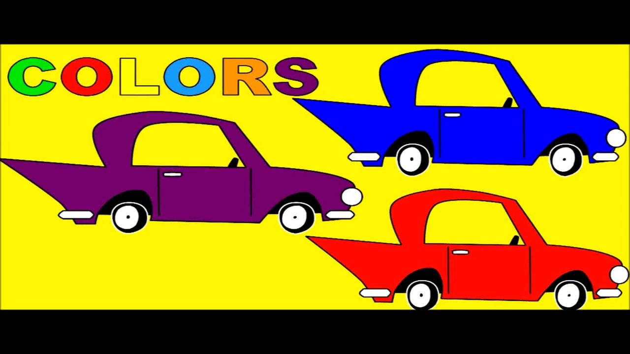 Colours Cars For Kids To Learn Learn Colors With Car Painting