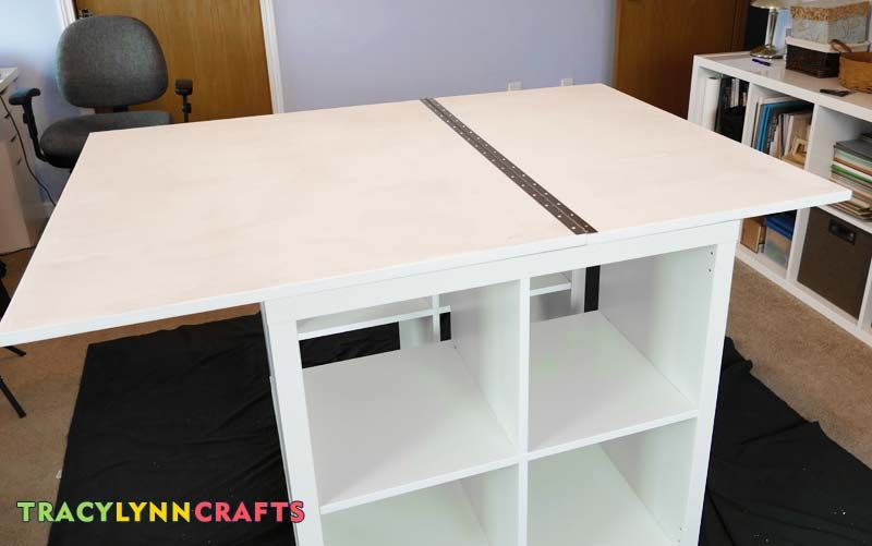 Drop leaf craft table with images craft table craft