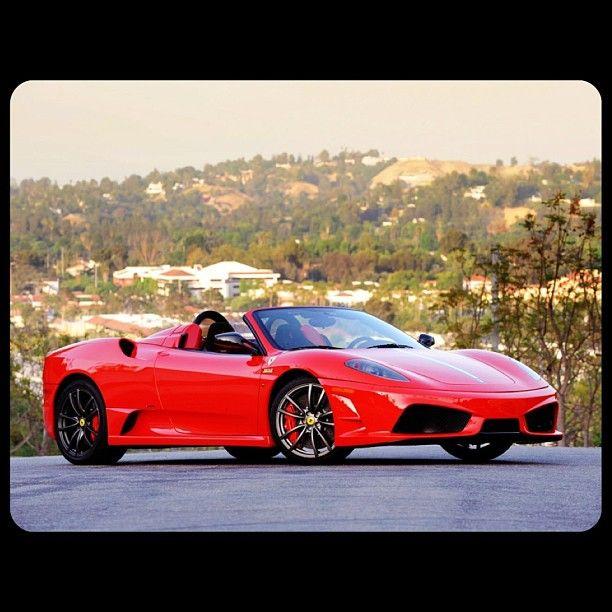 78 Best Ideas About Ferrari F430 Spider On Pinterest: Dreamy Cherry Red Ferrari F430 Spider!