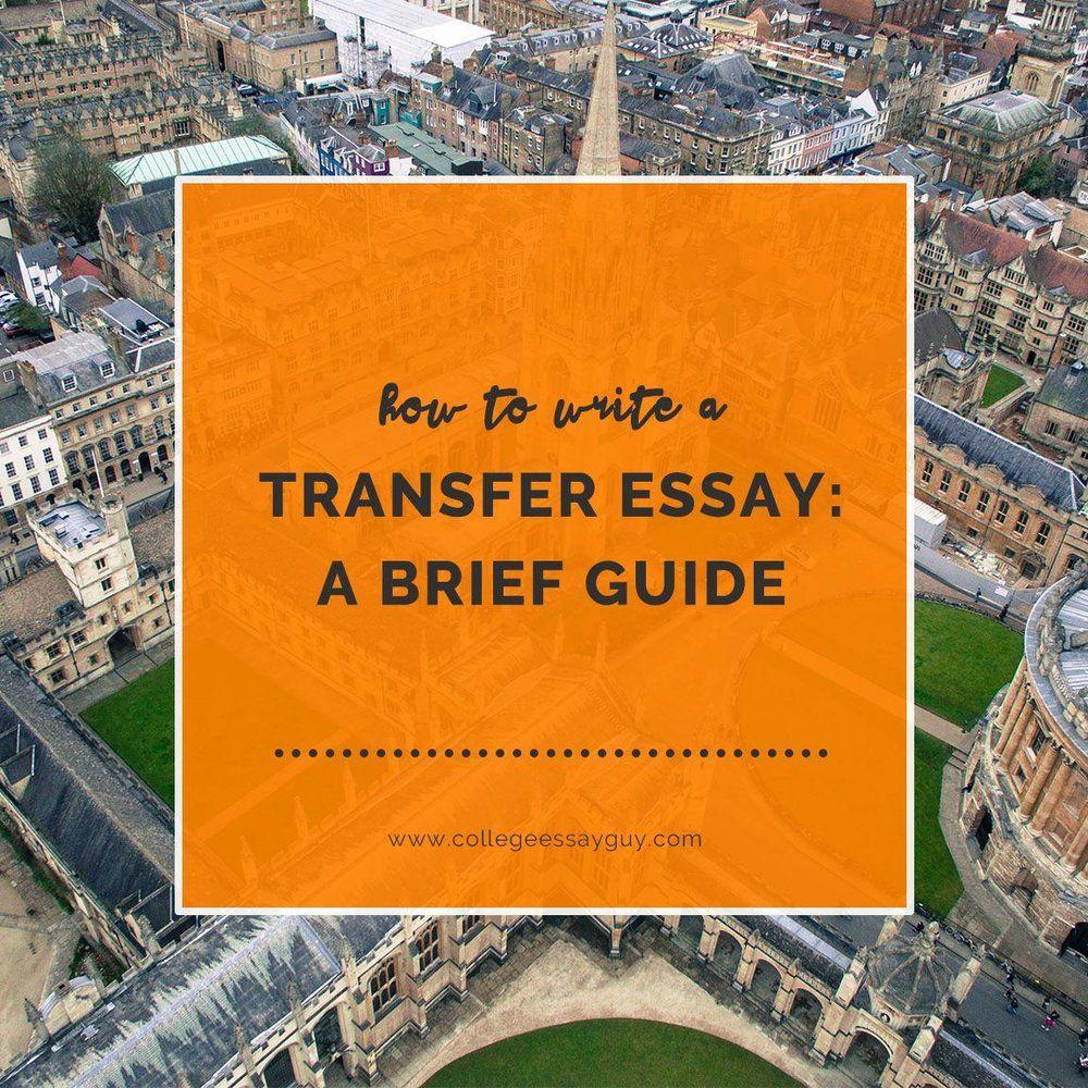 Credit dissertation transfer write