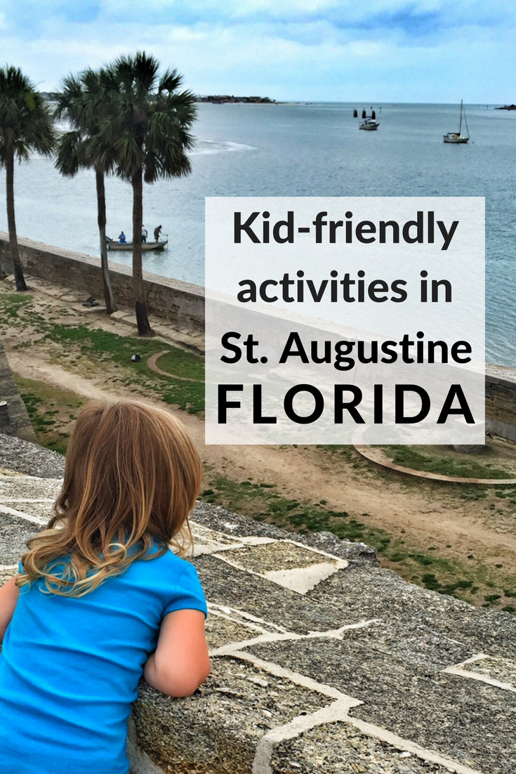 take the kids back in time with a visit to st augustine florida rh pinterest com