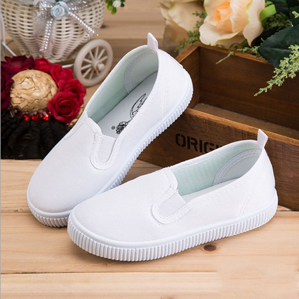 5b3c42ba68c4 Click to Buy    children embroidery shoes designs kids casual shoe lace  elastic band slip-on boys girls sneakers unisex  Affiliate