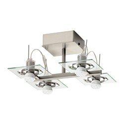 Nymane Plafondspot Met 4 Spots Wit Keukenverlichting Ikea