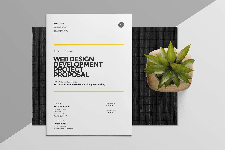 Web Design Proposal Fontes