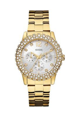Gold-Tone Shimmering Sport Watch | GUESS.ca