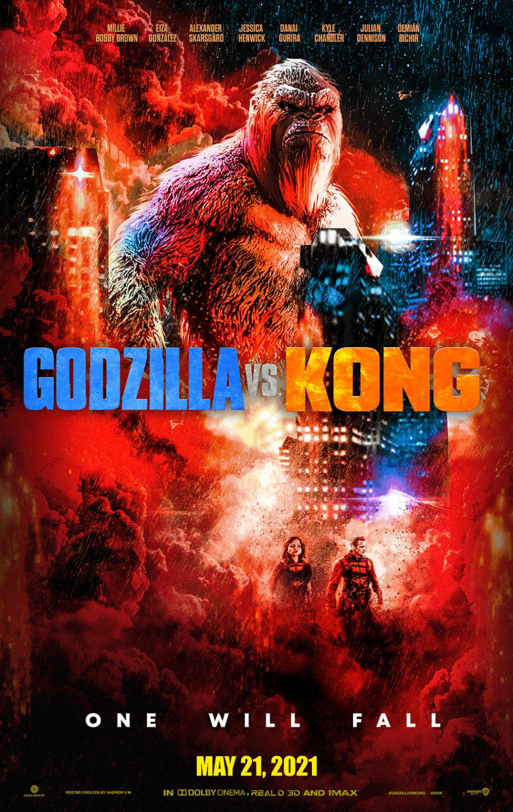 20 Andrew Vm Andrewv M Twitter In 2021 King Kong Vs Godzilla King Kong Art Godzilla