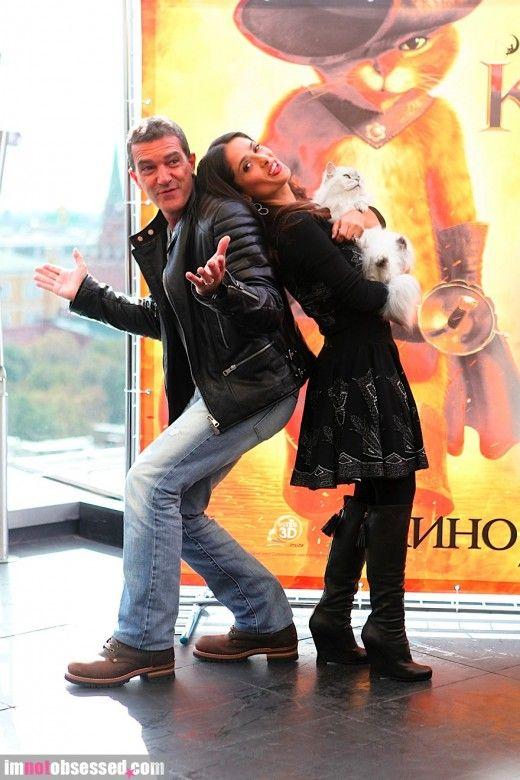 Antonio Banderas & Salma Hayek