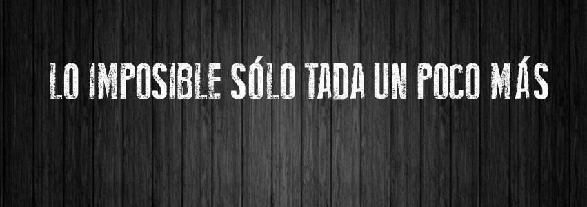Imposible?