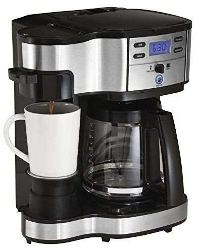 Feature Two Ways To Brew Single Cup Or Full 12 Cup Glass