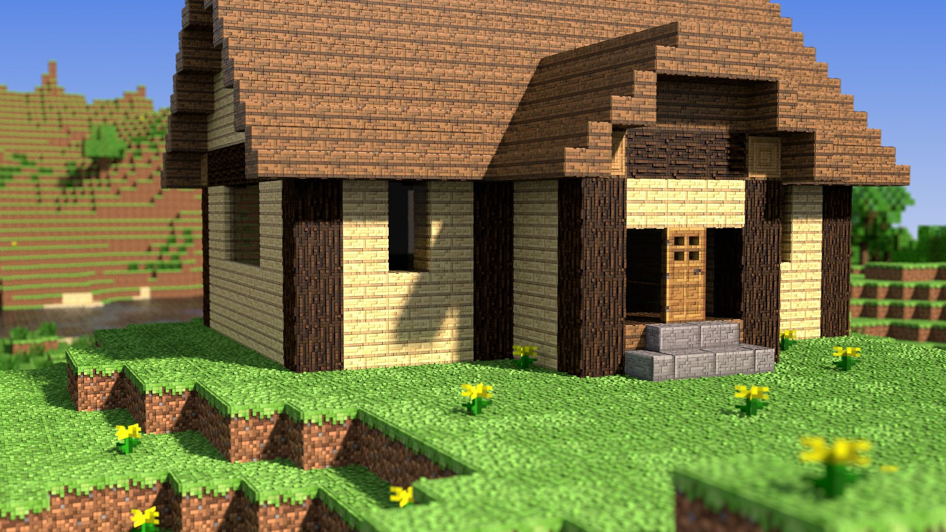 minecraft scenery is quite better than my previous renders of rh pinterest ca