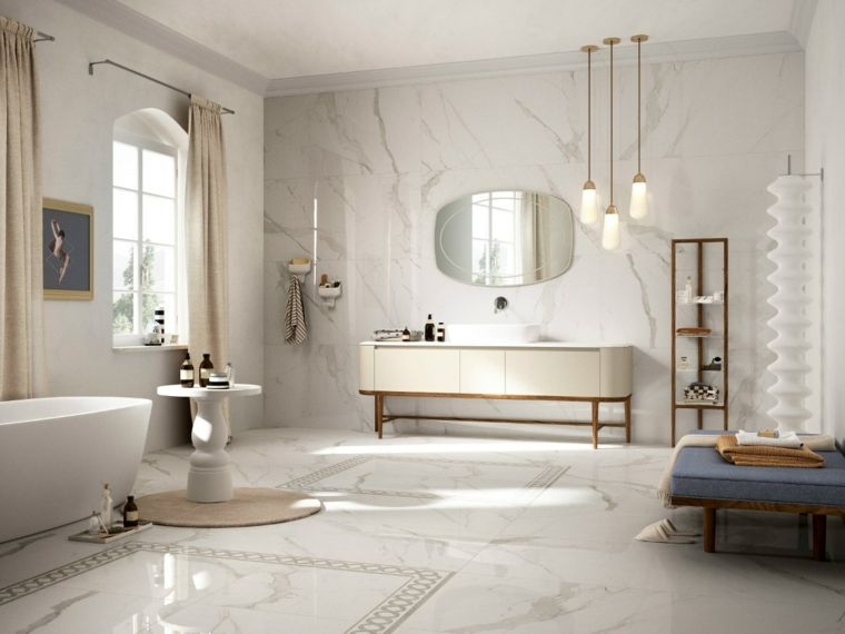Azulejos para cuartos de baño - Consejos para disfrutar ...