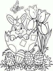 easterbunnycoloringpage 15 easter bunny  easter coloring pages easter bunny colouring