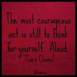chanel courage quote