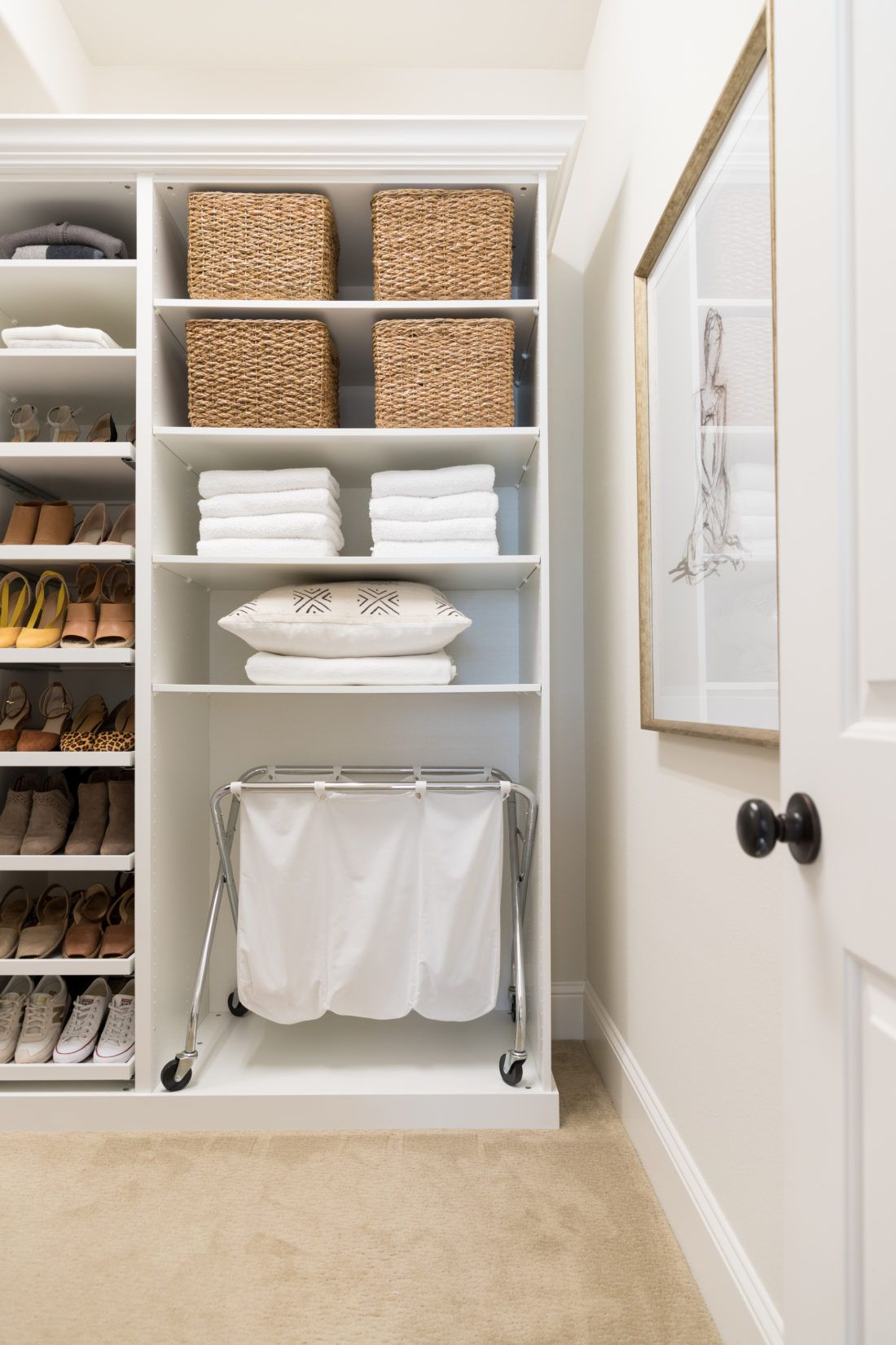 Walk in Closet Makeover with IKEA PAX   Crazy Wonderful   Ikea pax ...