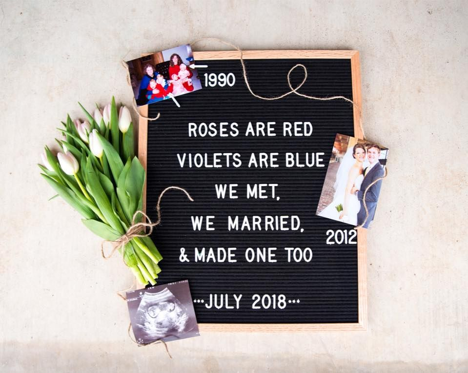 Valentine S Day Letter Board Baby Announcement Valentines Baby Announcement Birthday Baby Announcement Fun Baby Announcement