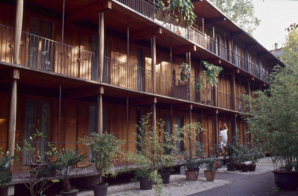 Kodachrome Herzog De Meuron Apartment Building Hospital Design Architecture Timber Architecture