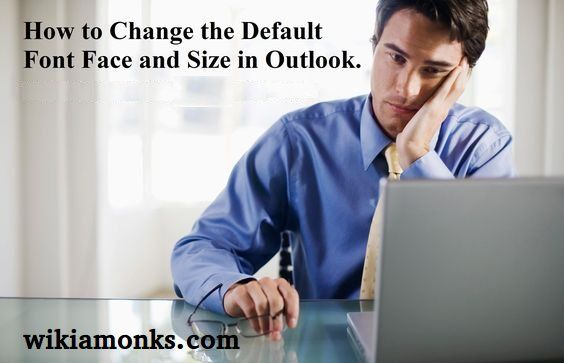 how to change default font in outlook 365