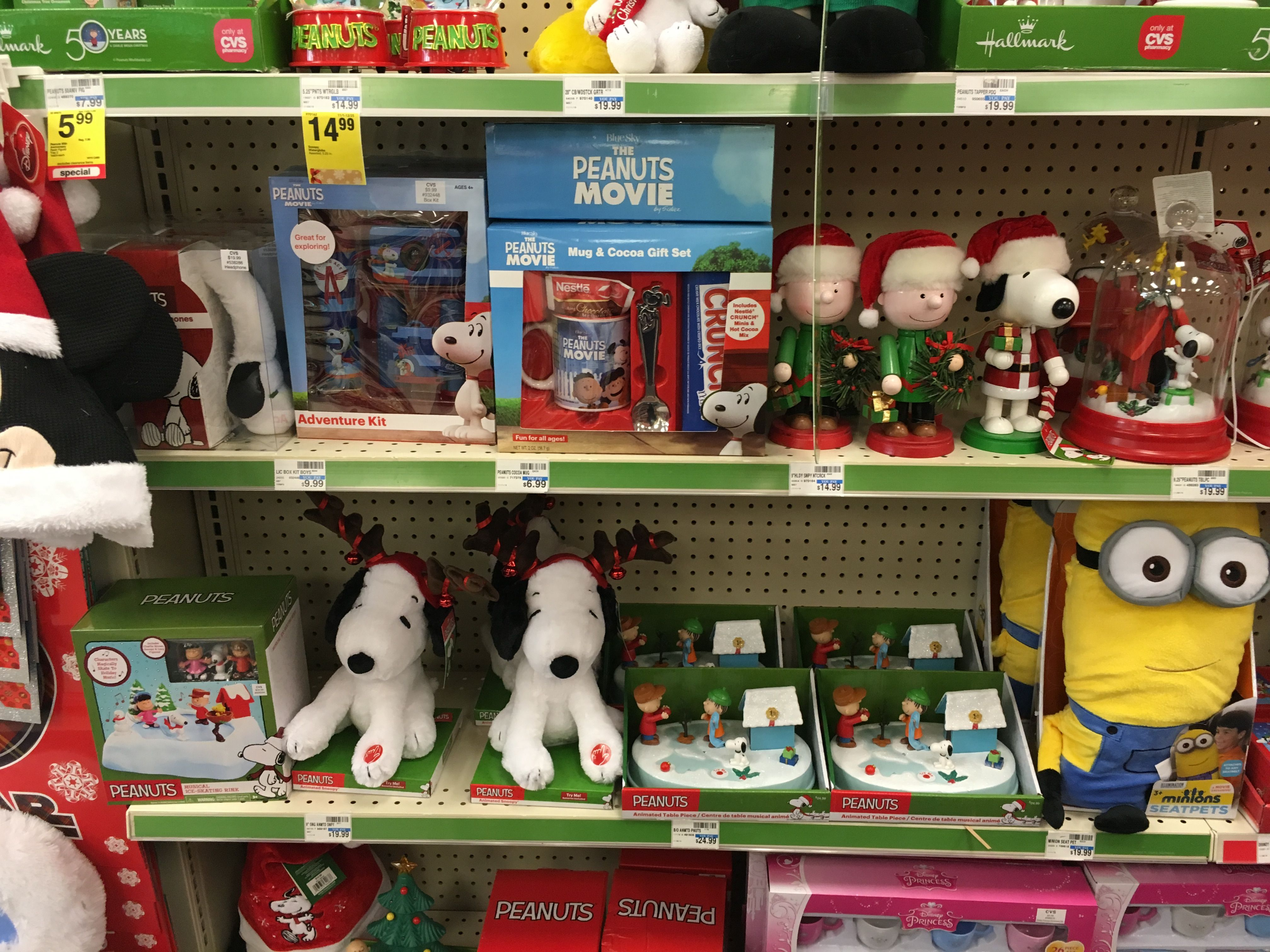 CVS has some cute Snoopy items Make wonderful ts for Snoopy