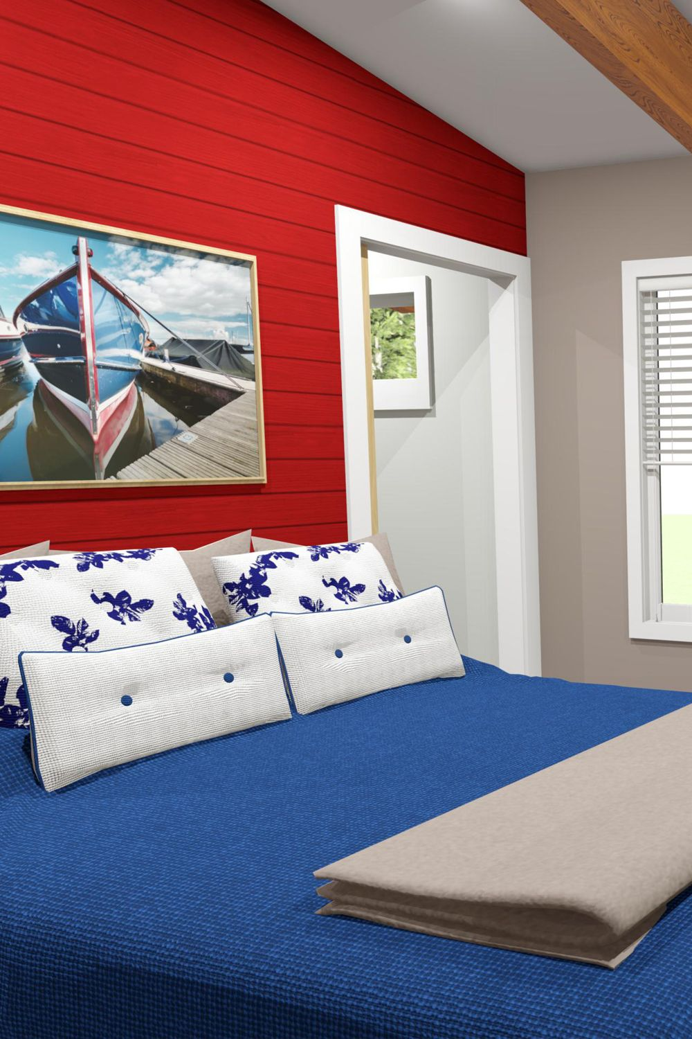 3d Create Your Own Room: This Modern Coastal Retreat Strikes A Perfect Balance. The