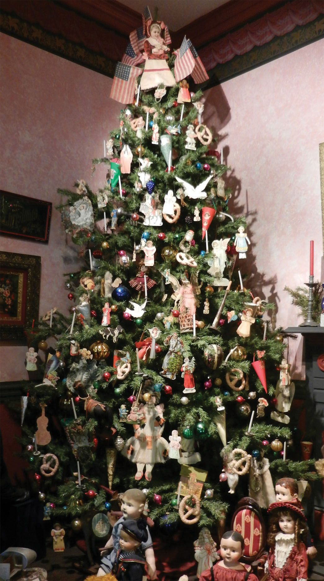 Image Detail For Image Victorian Tree An Antique Christmas Tree